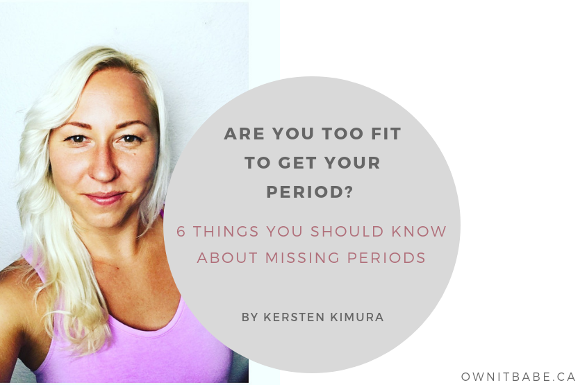 Are You Too Fit to Get Your Period? 6 Things You Should ... - photo#1