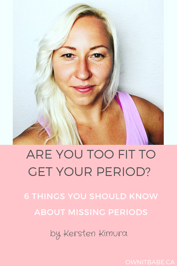Are You Too Fit to Get Your Period? 6 Things You Should ... - photo#9
